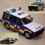 Jeep Policial Londres Metálico Land Rover Nuevo En Caja 1:43