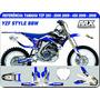 Adesivos-yzf 250 450 06 09-style Bbw-qualidade 3m