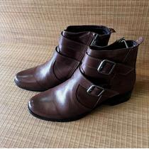Botina Feminina Palma Boots Em Couro