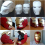 Casco Iron Man, Star Wars Y Cascos Modelados En Papel