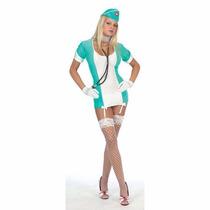 Disfraz Dama Mujer Enfermera Vintage Talla M-l