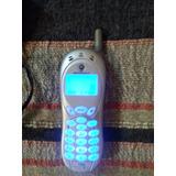 Antiguo Celular Motorola 120e Funcionando + Cargador