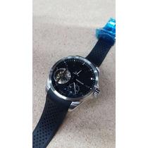Reloj Tag Heuer 006tg Carrera Pendulum Cuerda Acero Y Caucho