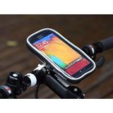 Estuche Celular Soporte Base Bicicleta Moto Funda Plástica