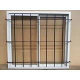Ventana Aluminio 150x150 Vidrio Reja Mosquitero Y Persiana