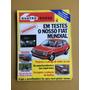 Revista Quatro Rodas 266 Voyage Sr Moto Portátil 1982
