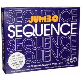 Sequence Jumbo Juego De Mesa Y Destreza Marca Jax