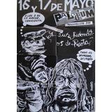 Poster Gigante De Los Redondos Indio Solari