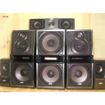 Caixa Acustica Jvc Sp-dxu8 Speaker System 6 Caixas