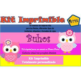 búho niño kit imprimible de decoraci c3 b3n recuerdos y cotillones