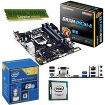 Combo Actualizacion Pc Cpu Intel Core I5 + Asus Hdmi + 8gb