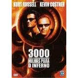 Dvd - 3000 Milhas Para O Inferno - Kevin Costner - Lacrado