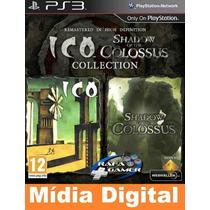 Ico And Shadow Of The Colossus -original-[jogos Ps3 Psn]