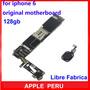 Mainboard Placa Iphone 6g 128gb, Libre Fabrica Y Icloud