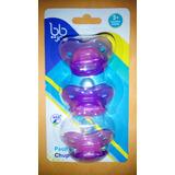 Set Kit De Tres Chupones Para Bebes Bbjoy Mas De 3 Meses