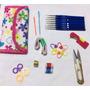 Agujas Crochet Con Accesorios + Estuche