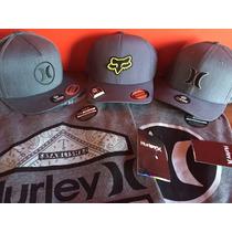 Gorras Y Playeras Fox Y Hurley