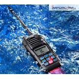 Radio Telefono Marino Icom Ic M25 Vhf Hecho En Japon Flota