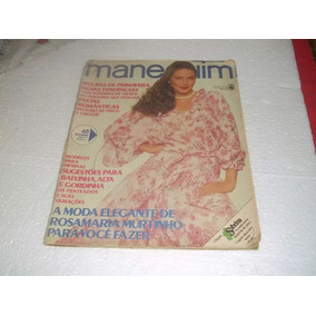 Lote De 2 Revistas Manequim Antigas Com Moldes C/ Brindes