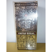 Antiguo Whisky Chivas Regal 1 Litro Decada Del 60