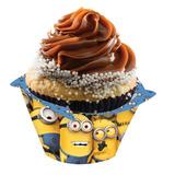 16 Unid. Porta Cupcake Minions * Meu Malvado Favorito