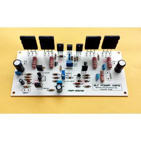 Placa Montada Amplificador De Audio 250w Rms Potencia