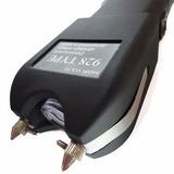 Kit 2 Máquina Choque Pistol Grip Taser Lanterna Led Ultra