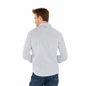 Camisa Oggi Ml X1541311 Blanco Hombre