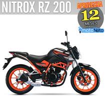 Vento Nitrox 200 Nuevas 0kms Placas Gratis Incluye Casco