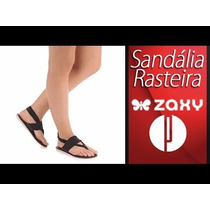 Sandalia Rasteirinha Feminina Grendene Zaxy Promoçao Oferta.