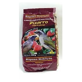 Pássaro Trinca Ferro Pessego 2kg Ração Raposo Nutrição U29