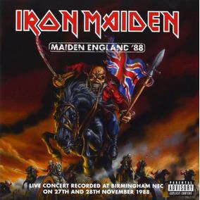 Iron Maiden 2 Cds Maiden England 88 Importado Novo Lacrado