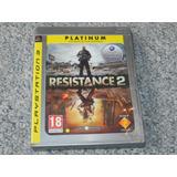 Juego Ps3 Resistance 2 Platinum