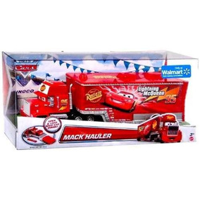Disney Cars Mack Hauler Caminhão Do Mcqueen Original Mattel