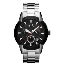 Relógio Armani Exchange Ax Cronograph Uax1177 100% Original