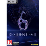 Resident Evil 6 Pc Original Caja Dvd Box, En Castellano