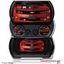 2010 Chevy Camaro Rojo Victoria - Rayas Negras W50