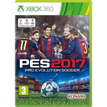 Pes 2017 Xbox 360 Midia Fisica Lacrado