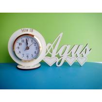 60 Souvenirs Reloj Con Nombre Pers 15 Años Aniversarios