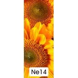 Adesivos 123 Adesivo Impresso Porta Flores Girassol Ne14