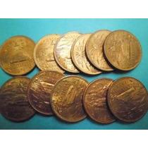 Lote 10 Monedas 20 Centavos Pirámide 1973 Y 74 Nuevas