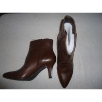 Flexi Zapatos Dama Botas 25307 Piel Nuez Cafe No Subasta