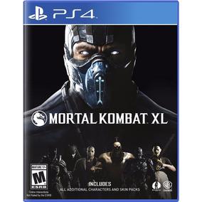 Mortal Kombat Xl Juego Ps4 Playstation 4 Stock Fijo