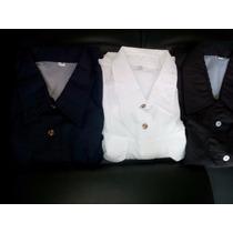 Camisas Tipo Columbia Blancas,negras Y Azul Marino