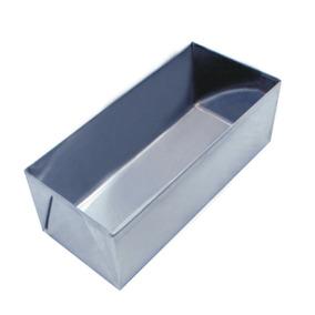Forma Para Assar Pão Em Aço Inox De 26 Cm