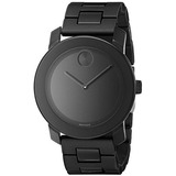 Reloj Movado Mens 3600047 Bold Black Stainless Steel