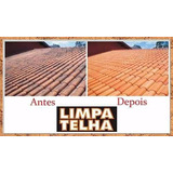 Fórmula Limpa Telhas Telhado Fachada Muros Etc..