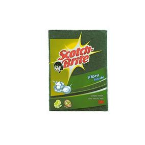 3m Scotch Brite Fibra Tradicional Aroma Limón Color Verde