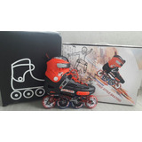 Patins Oxer Graffiti - In Line - Freestyle - Abec 7