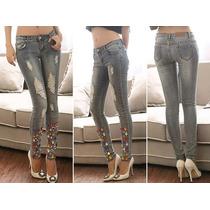 Calça Jeans Pedras Grandes - Frete Grátis